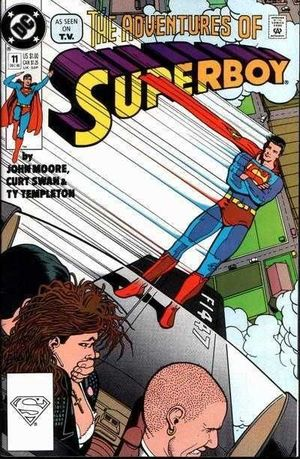 SUPERBOY (1990 2ND SERIES) #11