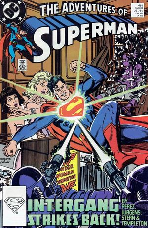 ADVENTURES OF SUPERMAN (1987) #457