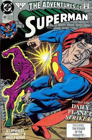 ADVENTURES OF SUPERMAN (1987) #482