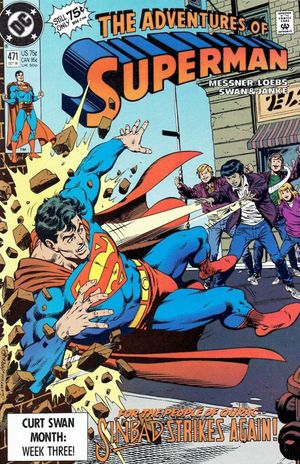 ADVENTURES OF SUPERMAN (1987) #471