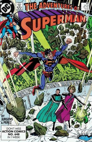 ADVENTURES OF SUPERMAN (1987) #461