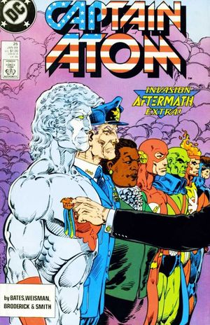 CAPTAIN ATOM (1987 DC) #25