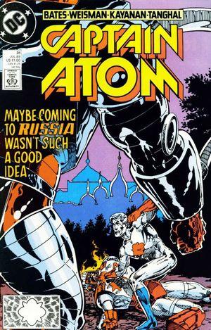 CAPTAIN ATOM (1987 DC) #31