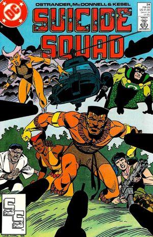 SUICIDE SQUAD (1987 1ST SERIES) #24