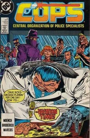 COPS (1988 DC) #6