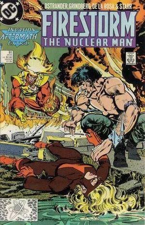 FIRESTORM (1982 2ND SERIES) #81