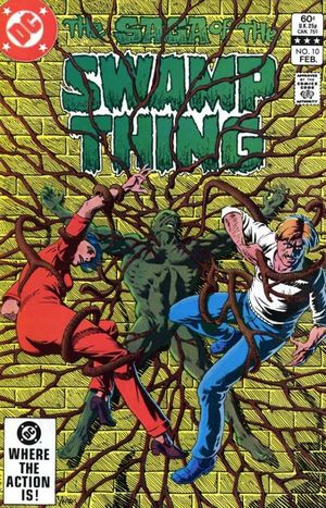 SWAMP THING (1982 2ND SERIES) #10