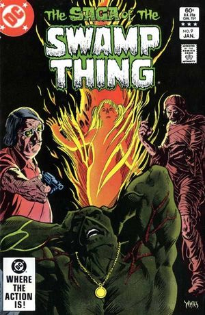 SWAMP THING (1982 2ND SERIES) #9