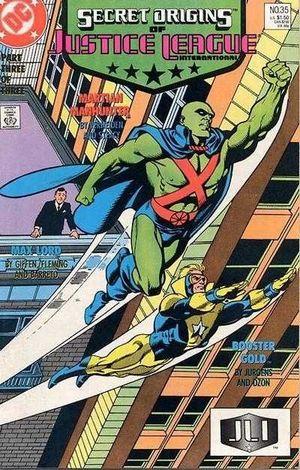 SECRET ORIGINS (1986-1990 2ND SERIES) #35