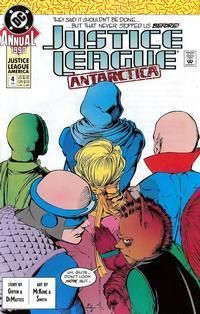 JUSTICE LEAGUE AMERICA (1987) ANNUAL #4