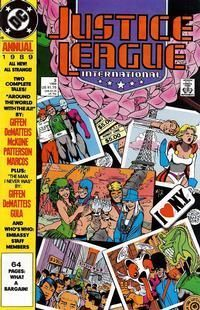 JUSTICE LEAGUE AMERICA (1987) ANNUAL #3