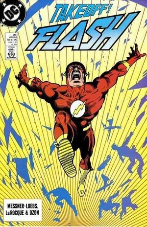 FLASH (1987 2ND SERIES) #24
