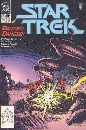 STAR TREK (1989 2ND SERIES DC) #13