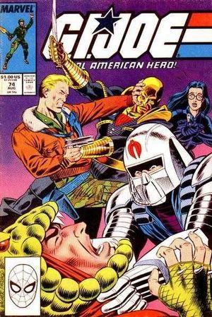 GI JOE (1982 MARVEL) #74
