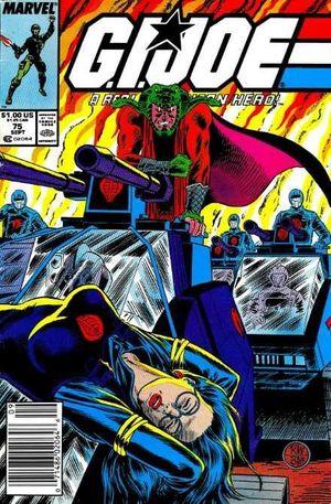 GI JOE (1982 MARVEL) #75