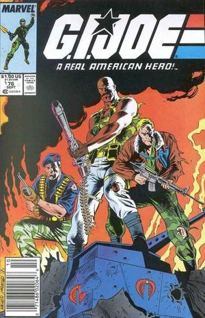 GI JOE (1982 MARVEL) #76