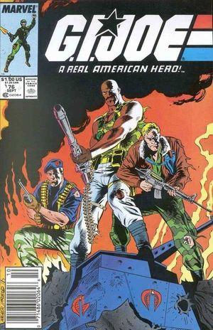 GI JOE (1982 MARVEL) #76