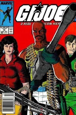 GI JOE (1982 MARVEL) #78