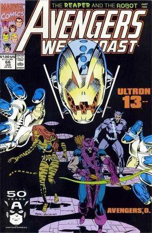 AVENGERS WEST COAST (1985) #66
