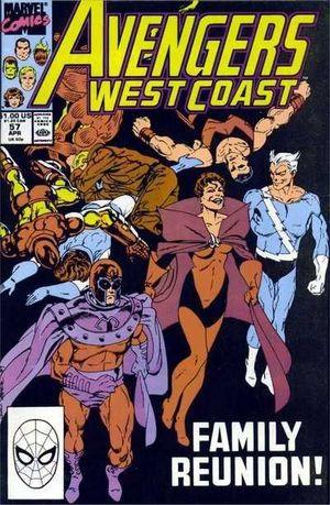 AVENGERS WEST COAST (1985) #57
