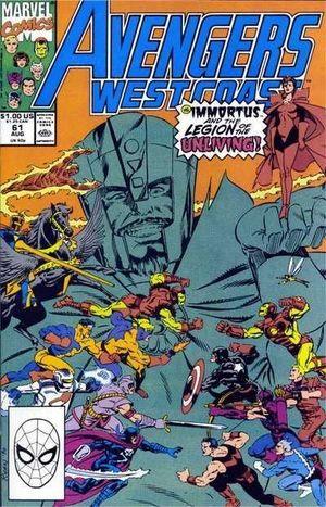 AVENGERS WEST COAST (1985) #61