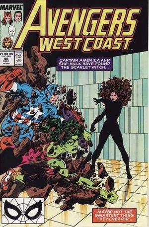AVENGERS WEST COAST (1985) #48