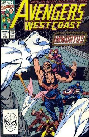 AVENGERS WEST COAST (1985) #62
