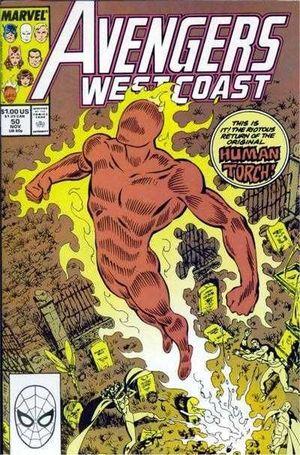 AVENGERS WEST COAST (1985) #50
