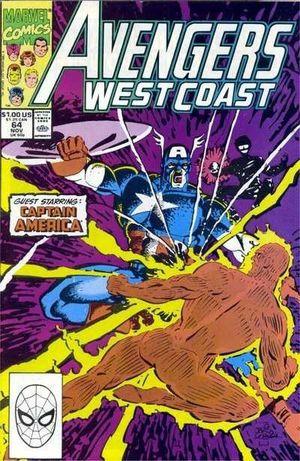 AVENGERS WEST COAST (1985) #64