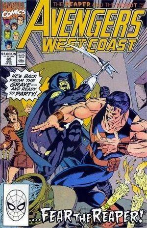 AVENGERS WEST COAST (1985) #65
