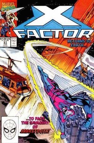 X-FACTOR (1986 1ST SERIES) #51