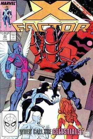 X-FACTOR (1986 1ST SERIES) #43