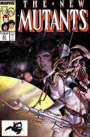 NEW MUTANTS (1983 1ST SERIES) #63