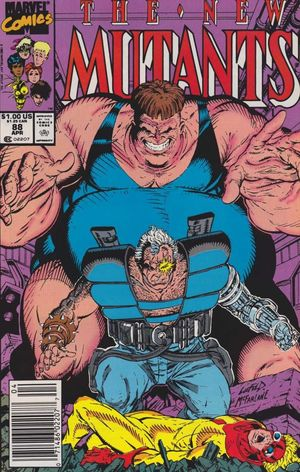 NEW MUTANTS (1983 1ST SERIES) #88