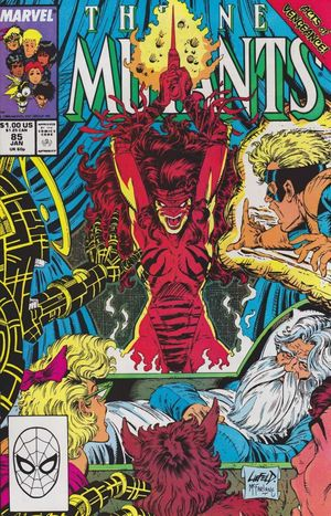 NEW MUTANTS (1983 1ST SERIES) #85
