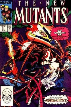 NEW MUTANTS (1983 1ST SERIES) #74
