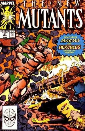 NEW MUTANTS (1983 1ST SERIES) #81