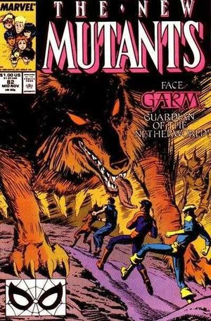 NEW MUTANTS (1983 1ST SERIES) #82