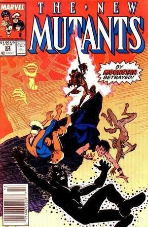 NEW MUTANTS (1983 1ST SERIES) #83