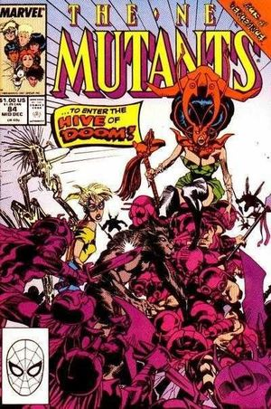 NEW MUTANTS (1983 1ST SERIES) #84