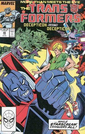 TRANSFORMERS (1984 MARVEL) #49