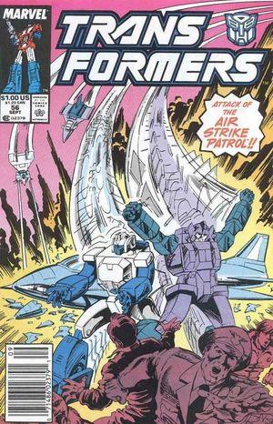 TRANSFORMERS (1984 MARVEL) #56