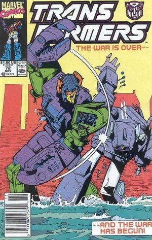 TRANSFORMERS (1984 MARVEL) #72