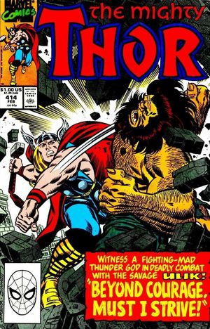 THOR (1962-1996 1ST SERIES JOURNEY INTO MYSTERY) #414