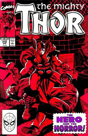 THOR (1962-1996 1ST SERIES JOURNEY INTO MYSTERY) #416