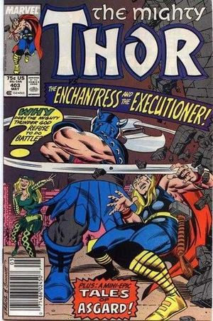 THOR (1962-1996 1ST SERIES JOURNEY INTO MYSTERY) #403