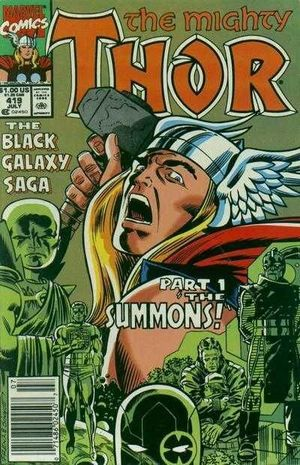 THOR (1962-1996 1ST SERIES JOURNEY INTO MYSTERY) #419