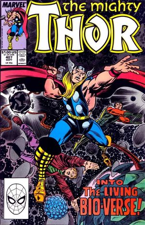 THOR (1962-1996 1ST SERIES JOURNEY INTO MYSTERY) #407