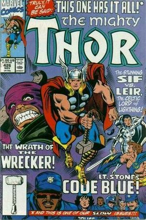 THOR (1962-1996 1ST SERIES JOURNEY INTO MYSTERY) #426