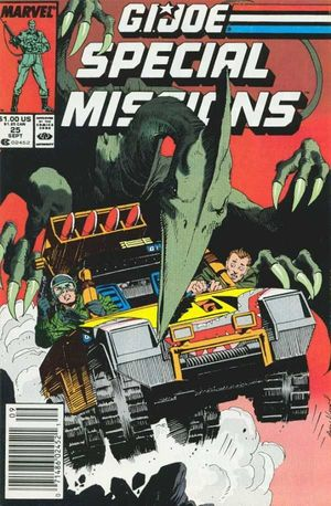GI JOE SPECIAL MISSIONS (1986) #25